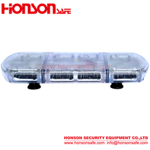 LED PC dome and alumimun Base Magnetic installation High Power LED warning vehicle mini lightbar HSM424