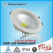 6 inch 175mm cut out 20w led downlight eyeshield dimmable CE SAA approval