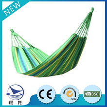 Outdoor furniture stripe hammock, best selling in china