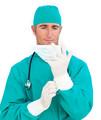 tıbbi steril lateks cerrahi eldiven