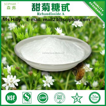 100% all natural Rebaudioside A 98% Stevia Extract / Sweetness