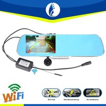 5.0 inch wifi wireless Rear View Mirror Car Camera HD 1080P Car DVR Video camera