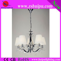 Silver thread modern pendant light/E14