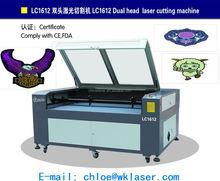 home fabric laser cutting machine/big laser cutting and engraving machine/best cnc laser cutting for cloth plastic