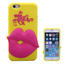 silicone phone case with feed me for iphone