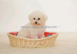good news !new designhandmade wick dog kennel with cushion in summer dog kennel