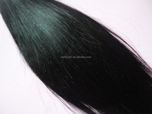 4A Grade 10inch-30inch Malaysian virgin hair weft Silky straight natural black color 100gram 3.5 OZ double wefts