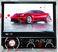 "DH7090 7"" One din car dvd player with HD digital Screen 800*480 resolution ,SWC, TV, radio,AUX, GPS for all cars"