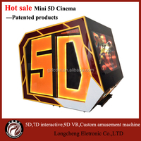 The Hottest 2 seaters Mini 5d Cinema With Removable Cabinet For Amusement Park