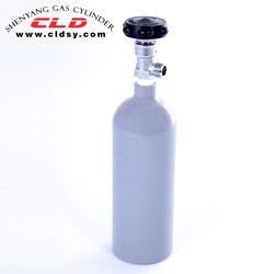 aluminum CO2 gas cylinder MIXTURE GAS for 2015 model