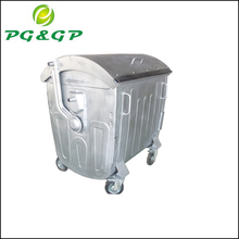 outdoor park metal recycling waste bin container price