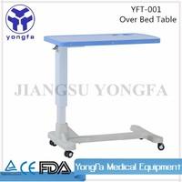YFT-001 Hospital Dining Table Hospital Bed Tray Table hospital table
