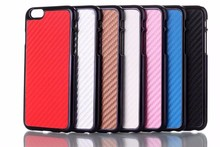 Carbon Fiber Texture Back Cover Phone Case Cover For iPhone 6 Plus
