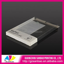 custom clear PVC packaging box for PPC serial products packing