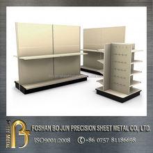 Japan amada machinery stands manufacturer custom made metal display racks for exclusive shop