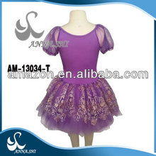 2015 new style Stretch Beautiful children stage dance costume