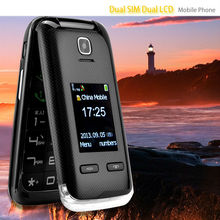 Good quality hotsell flip dual sim card mobile phone