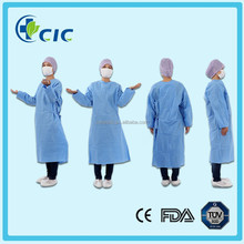 ETO sterile Medical consumables nonwoven medical doctor use surgical gown