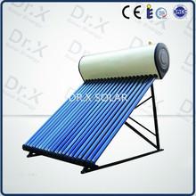 CE European vacuum tube solar heater system