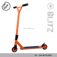 Professional Production Freestyle 360 Degree Orange Sport Scooter for sale