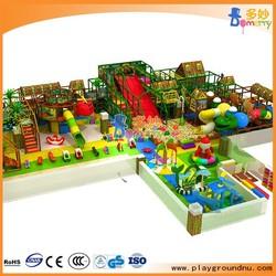 Jungle theme children indoor soft play children indoor play gym for sale