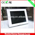 12 pulgadas de montaje en pared electrónico digital marco de fotos de la venta caliente de regalo de china
