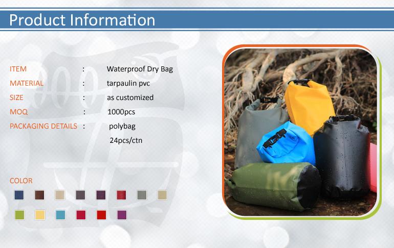 PVC Tarpaulin Waterproof Dry Bag