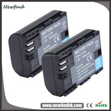 Wholesale camera batteries for Canon EOS 6D 60D 7D 70D 5D Mark II III DSLR Camera LP-E6 Li-ion