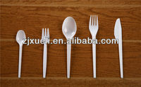 2.1-2.2g plastic travel cutlery case,disposable plastic cutlery