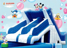 High quality Large outdoor inflatable water slide