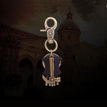 Porte Clef Marque Men Leather Funny Keychain Hammer Keyring Male Detachable Key Ring Biker Jewelry K0002