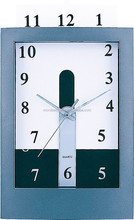 Dial changeable insert dial funny rectangular wall clock