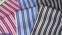 cotton fabrics factory wholesale stock fabric 50s striped plain mercerised 100 cotton yarn dye fabric