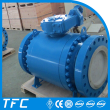 high temperature metal seat trunnion mounted ball valve