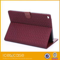 2015 top quality PU Screen protector case for iPad Air 2