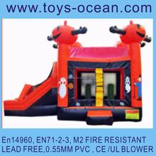 inflatable Halloween bounce with slide ,inflatable Halloween combo ,hallowmas inflatables