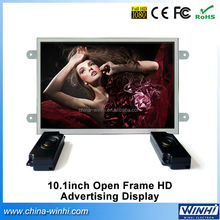 """factory 1280x800 1080P HD supermarket 10"""" vertical lcd digital signage player board"""