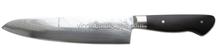 "2015 Newest 8"" Chef Damascus steel knife with Ebony Wood handle"