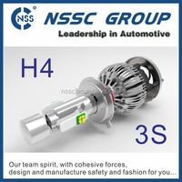 Latest cree XHP 50 chips CREE LED car tuning light h4 led headlight bulb