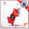 Leather Carabiner Keychain Animal Keyring Custom Keychain