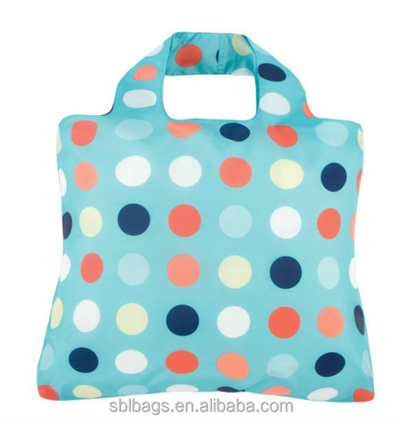 2015 the most popular polyester printing shopping bags, foldable carry shopping bags China supplier