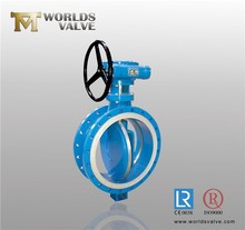 DI/ductile iron gearbox/manual gearbox/bevel gear butterfly valve