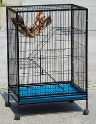 Large metal cat cage, luxury big cat cage