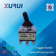 UL&RoHS factory supply toggle switch motorcycle switch on off