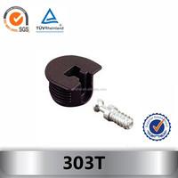Plastic shelf support holder 303T