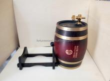 30L grande recipiente de vinho e de madeira barril de cerveja atacado