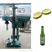 manual crown cap beer bottle capping machine