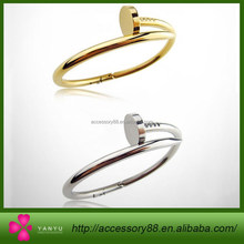 Fashion simple small accessories 2015, three colors of nail Bracelet