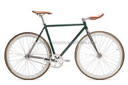 Hot sale complete bicycle 2 wheel fixed gear bike 700C track bicycle pure vintage bike fixie bike SW-CB-M0076