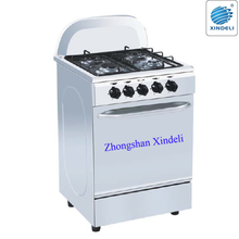 gas stove/gas cooker/electric oven in South Africa, 60*50 gas cooker top electric oven, white body gas oven with bakery oven